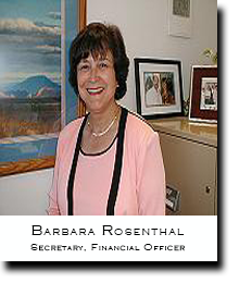 Barbara Rosenthal, V.I.P. Financial Officer