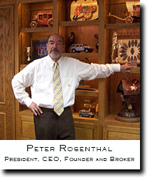 Peter Rosenthal, V.I.P. President, CEO