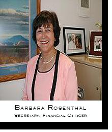 Barbara Rosenthal, V.I.P. Financial Officer