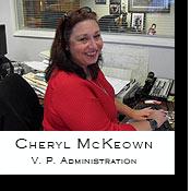 Cheryl McKeown, V.I.P. Administration