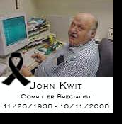 John Kwit, Computer Specialist