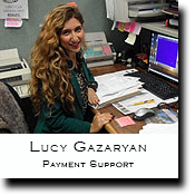 Lucy Gasaryan, Payment Support
